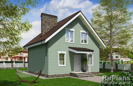 Дом 7,98 x 8,38