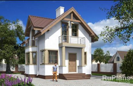 Дом 9,92 x 6,92