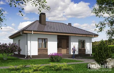 Дом 11,37 x 9,97
