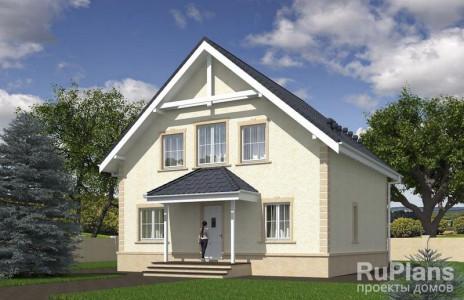 Дом 9,98 x 12,25