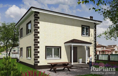 Дом 12,92 x 10,52