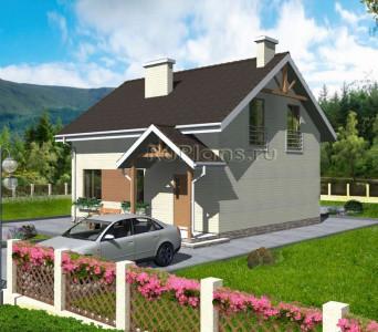 Дом 12,55 x 9,56