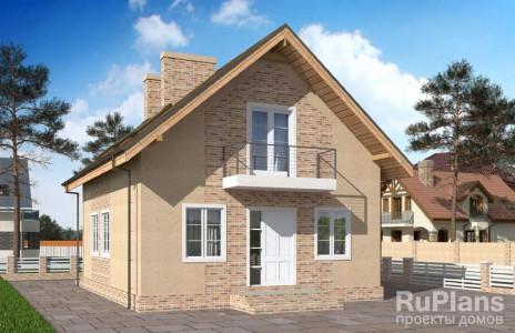 Дом 10 x 8