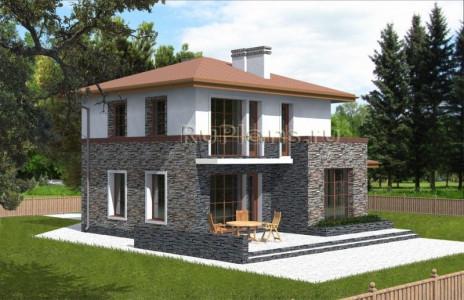 Дом 9,88 x 11,68