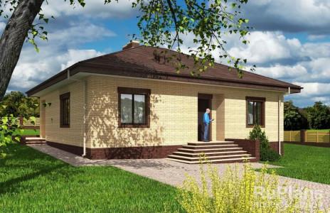 Дом 10,82 x 12,62