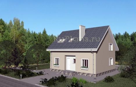 Дом 7,94 x 12,04