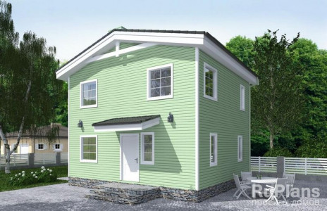 Дом 7,98 x 6,98