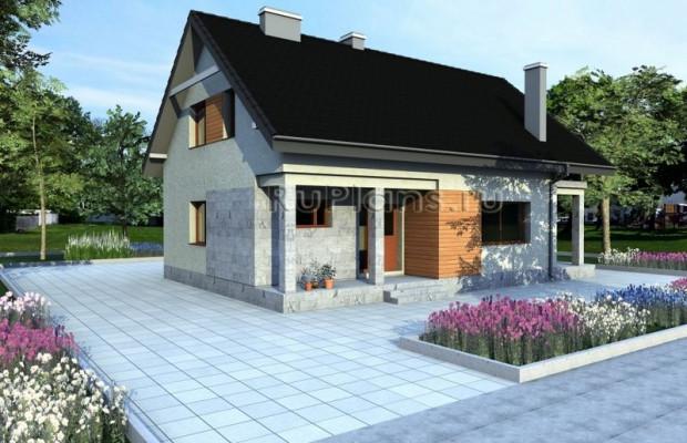 Дом 11 x 9