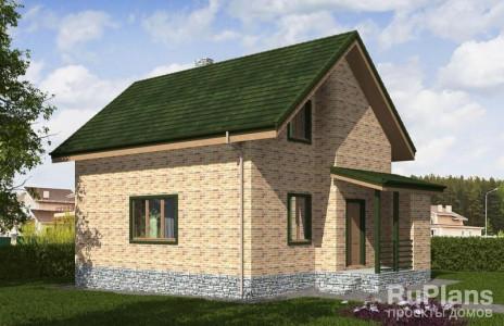 Дом 11,09 x 6,68