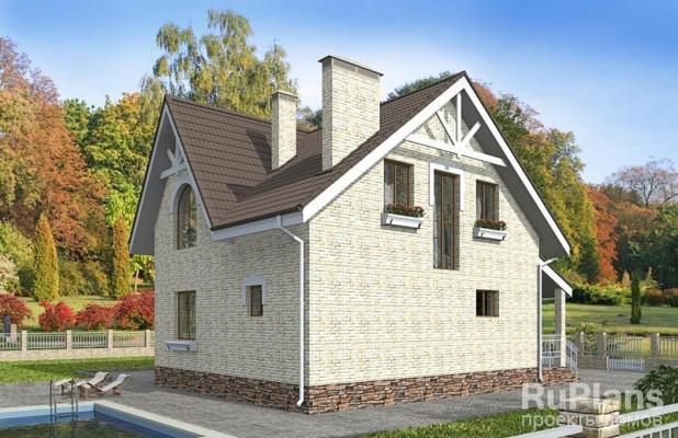 Дом 10,1 x 7,7
