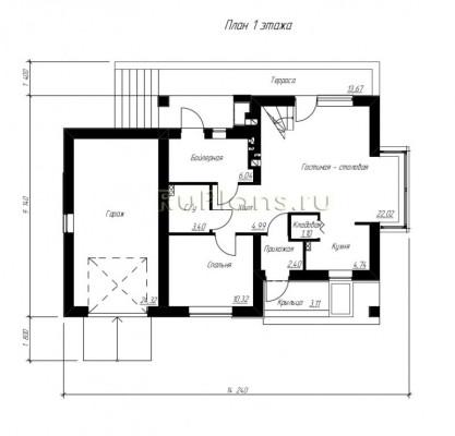 Дом 9,14 x 14,24