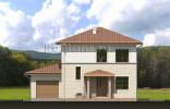 Дом 10,88 x 11,68