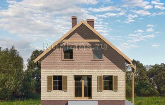 Дом 8 x 7