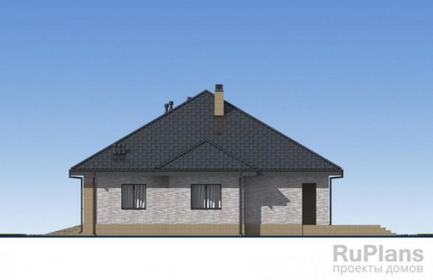 Дом 15,86 x 13,81