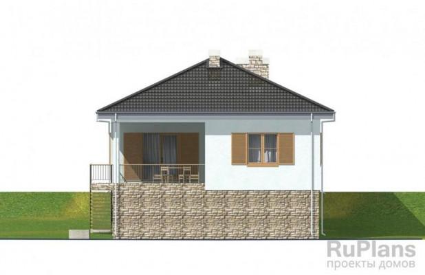 Дом 16,92 x 10,02