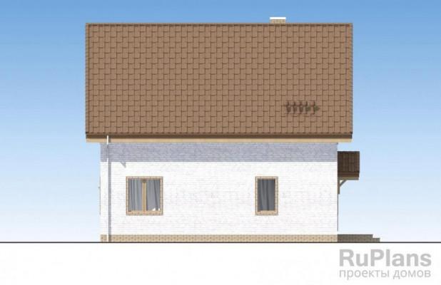 Дом 9,77 x 10,07