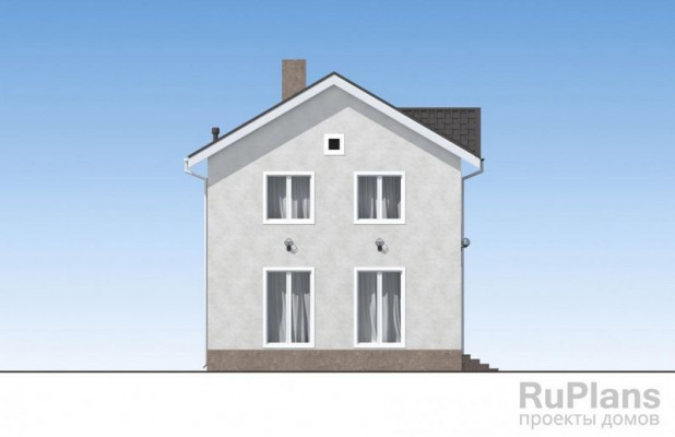 Дом 9,6 x 8,1