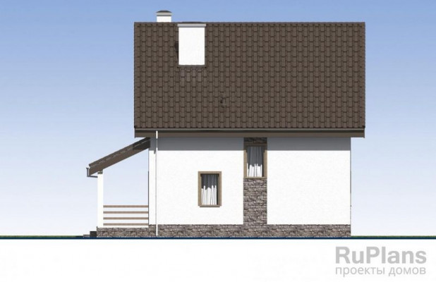Дом 11,36 x 9,72